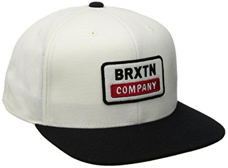 BRIXTON (ブリクストン) 6パネル スナップバック キャップ 帽子 DEWEY SNAPBACK - OFF WHITE 00686