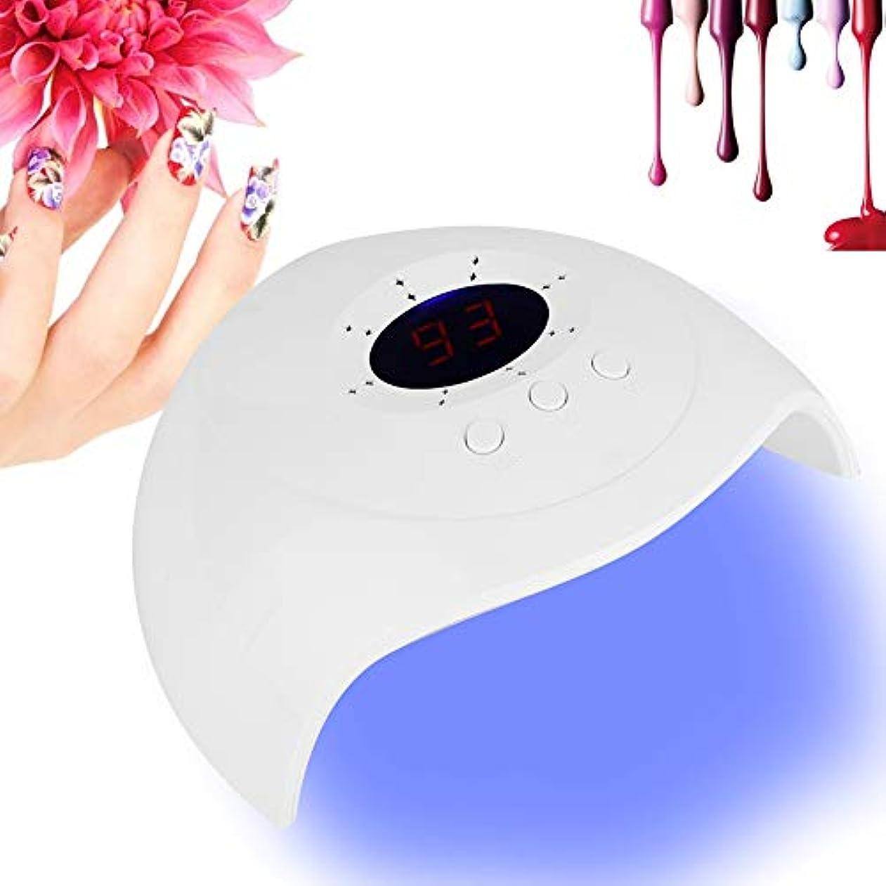 独創的美しいヒギンズ36W ネイルポリッシュ ドライヤー ランプデュアル 光源 LED UV ジェルネイルポリッシュ ドライヤー 硬化ランプ