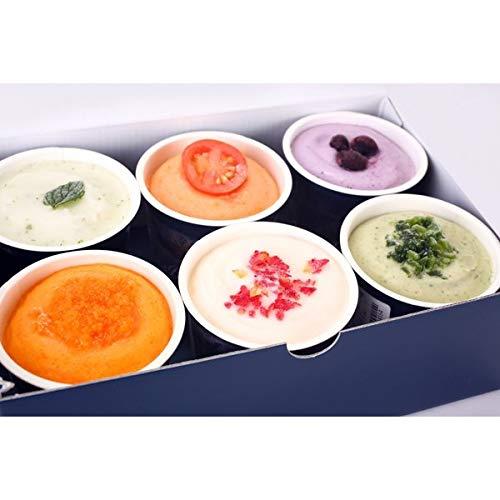ベジターレ とれたて野菜と果実の生ジェラート カップ6種入り