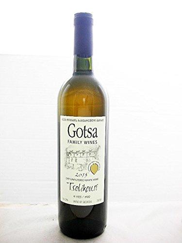 ゴッツァ ツォリコウリ《Gotsa Tsolikouri》【ジョージア(グルジア)/カルトリ地方 ・オレンジワイン(辛口)】