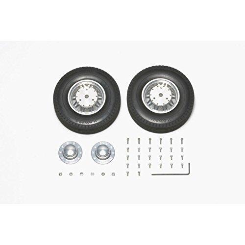 RCビッグトラック・オプション&スペアパーツ TROP.13 ツインスポークアルミホイールセット(リヤ外輪用) 56513