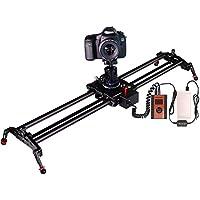 スライダー カメラ 電動 ASHANKS (120cm長さ) 炭素繊維 三脚適応 角度調整可能 インターバル撮影 微速度撮影 Sony Canon Nikon LUMIX ビデオカメラ/DSLRカメラ 撮影に対応 ビデオ スライダー
