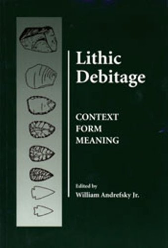 Download Lithic Debitage: Context, Form, Meaning 0874807689
