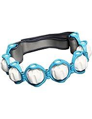 D DOLITY マッサージ ローラー ロープ付き 六つボール 4色選べ - 青, 説明したように