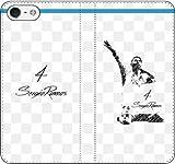 iPhone/Xperia/Galaxy/他機種選択可:サッカー/グラフィティ手帳ケース(デザイン:マドリッド/4番_01) 05 iPhone7