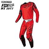 (FOX/フォックス)180 レース モトクロス ジャージ・パンツ セット(2017) レッド L,30
