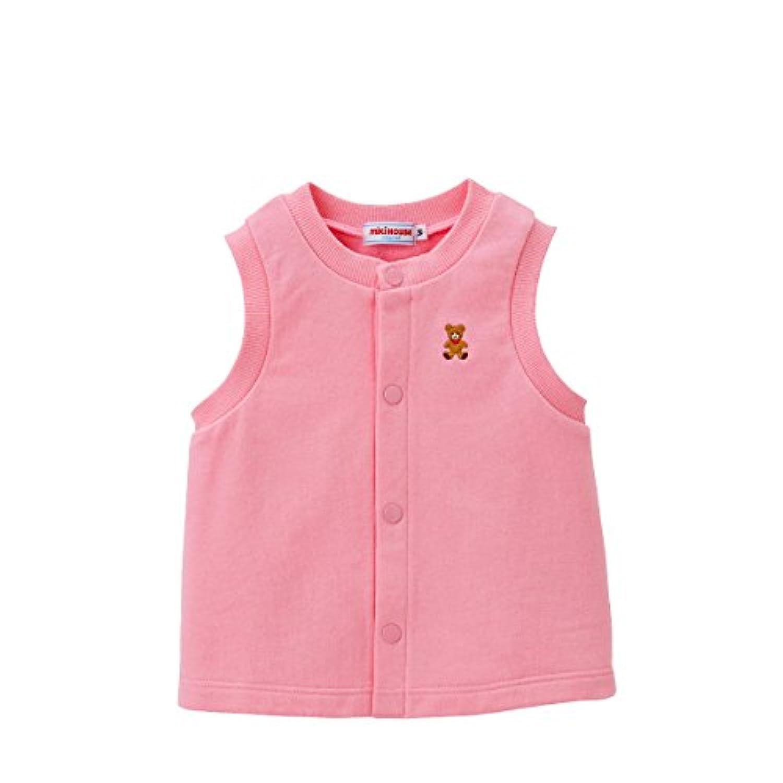 ミキハウス (MIKIHOUSE) ベスト 11-5701-847 S ピンク