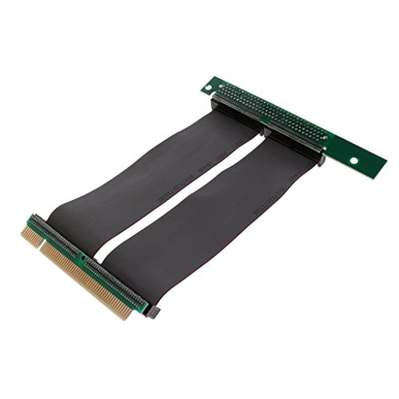 部門虫を数えるモッキンバードPerfk PCI拡張ケーブル?コード PCIライザー カード 32ビット エクステンダー アダプター 1U/2Uシャーシ用
