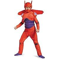 [Sサイズ]ベイマックス コスチューム マスク付 ディズニー コスプレ ヒーロー 子供 キッズ 赤いベイマックスのムキムキコスチューム [並行輸入品]