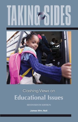 Download Taking Sides: Clashing Views on Educational Issues 0078050359