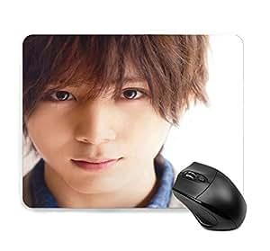 マウスパッド おしゃれ 人気 山田涼介 キャラクター かわいい ゲーミング 滑り止めマウスパッド 22cm*18cm