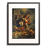 ピーテル・パウル・ルーベンス Peter Paul Rubens 「The Medici Cycle: The Birth of Marie de Medici. 1621-25」 額装アート作品