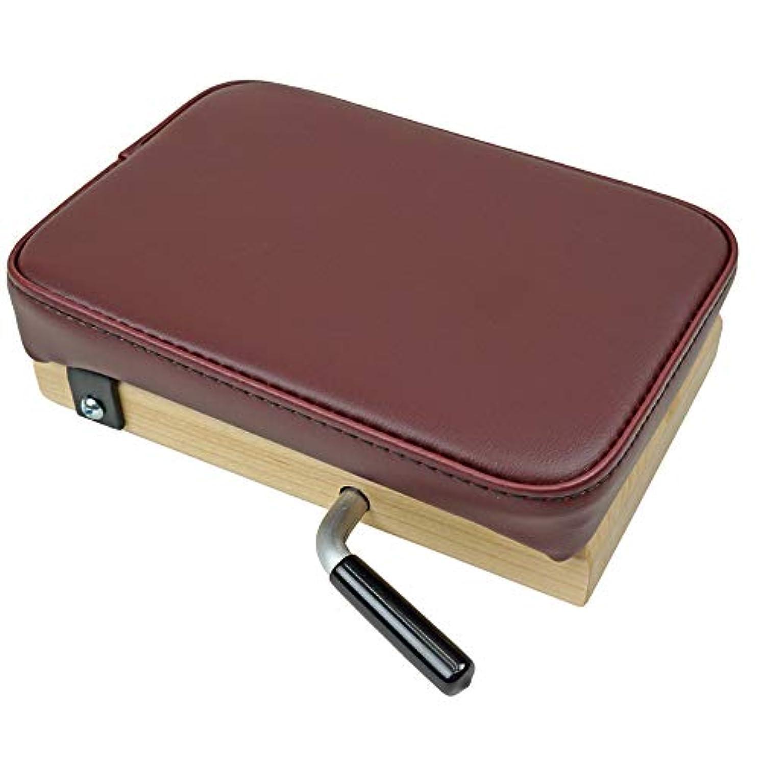ベース報復する窓を洗うTHULI TABLE (ツゥーリテーブル) ポータブルドロップB シングルクッション ドロップ 四肢用 手関節 足関節 の アジャストに