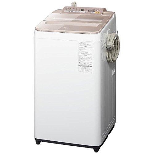 パナソニック 7.0kg 全自動洗濯機 ピンクPanasonic エコナビ NA-FA70H5-P