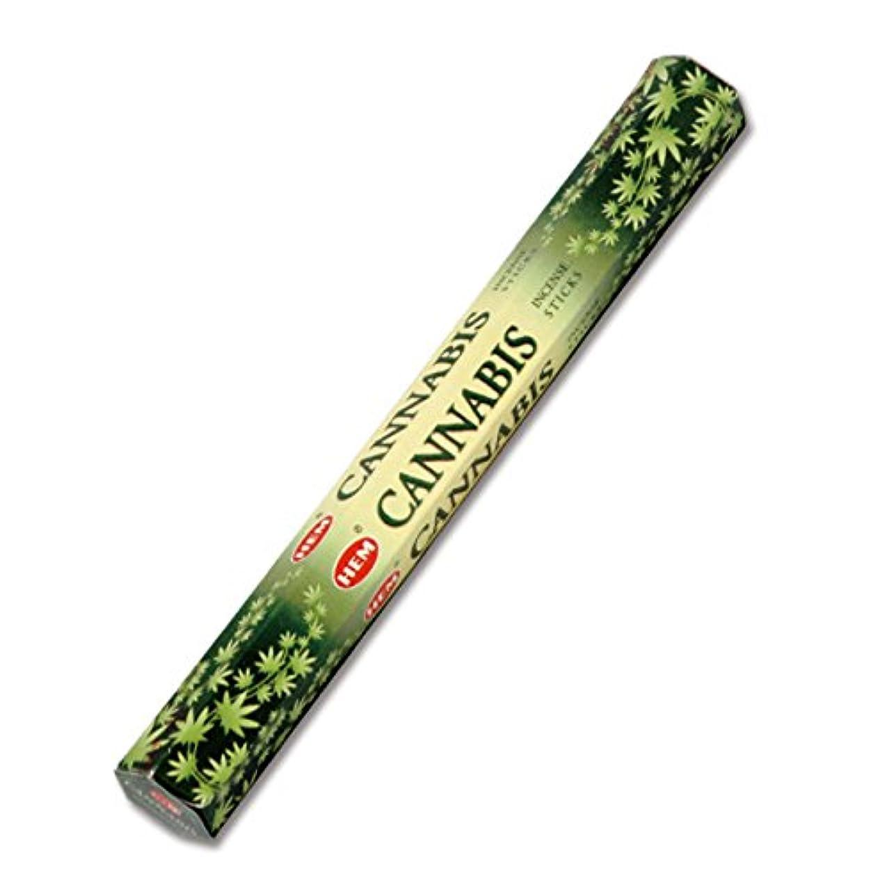 荒野消化器排泄物HEM(ヘム) カナビス CANNABIS スティックタイプ お香 1筒 単品 [並行輸入品]