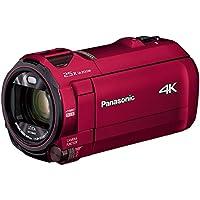 パナソニック 4K ビデオカメラ VX992M 64GB 光学20倍ズーム アーバンレッド HC-VX992M-R