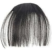 BESTLEE 前髪ウィッグ エアリーバング エクステウィッグ 空気感ぱっつん 超薄型ふんわり 自然に決まる アレンジ可能