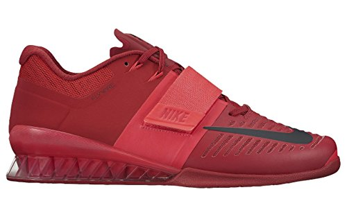 (ナイキ) Nike ナイキ ロマレオス 3 メンズ ウエイトリフティング シューズ 重量挙げ Romaleos 3 Men`s Weightlifting Shoes Red/Black/Red (並行輸入品) buyjiku