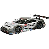 エブロ 1/18 S Road MOLA GT-R SUPER GT500 2014 Rd.2 Fuji No.46 完成品