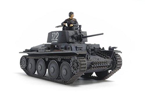 タミヤ 1/48 ミリタリーミニチュアシリーズ No.83 ドイツ陸軍 軽戦車 38 (t) E/F型 プラモデル 32583