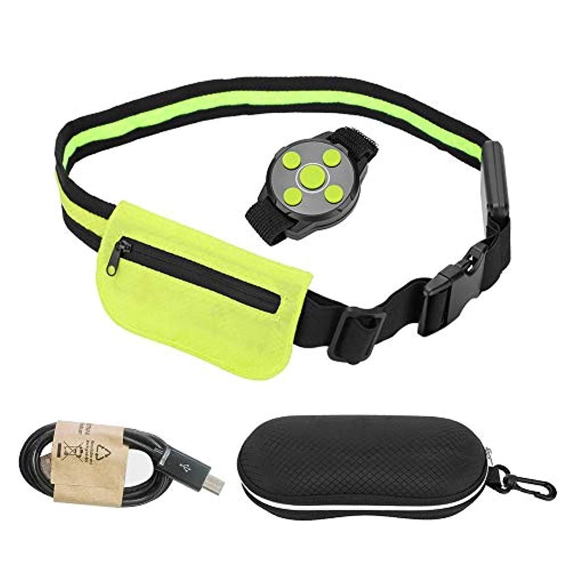 イライラする引き出し動員するAlomejor サイクリング LED 安全ベルト 高視認性 ライトアップ LED 反射 充電式 USB ランニング サイクリング 安全ベルト バッグ付き