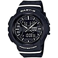 Casio Baby-G Ladies Black Analogue/Digital Running Watch BGA-240-1A1 BGA-240-1A1DR