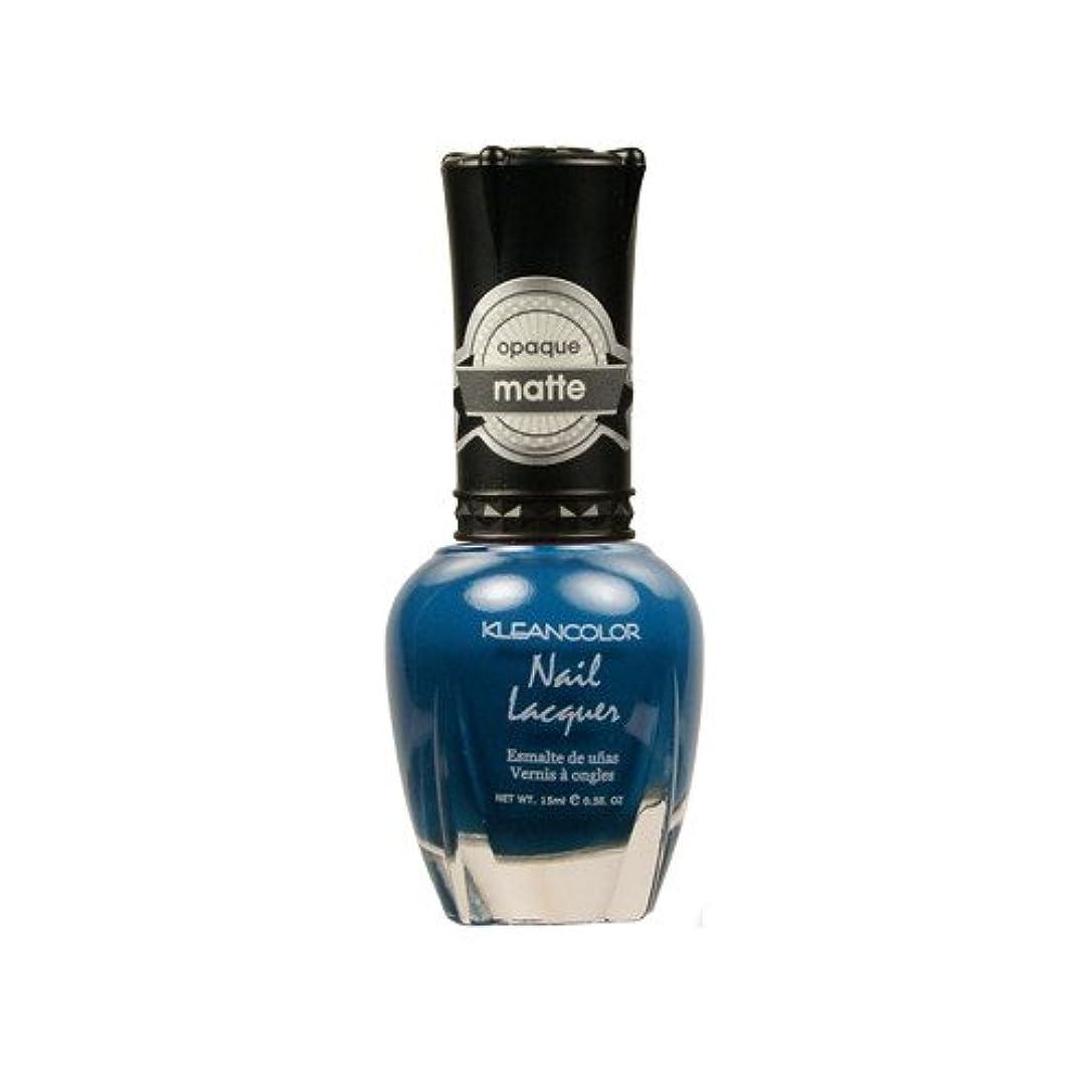 日光命題野菜(6 Pack) KLEANCOLOR Matte Nail Lacquer - Sensual Lagoon (並行輸入品)