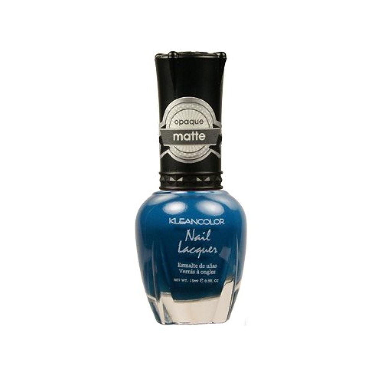 ポーク同志精緻化(3 Pack) KLEANCOLOR Matte Nail Lacquer - Sensual Lagoon (並行輸入品)