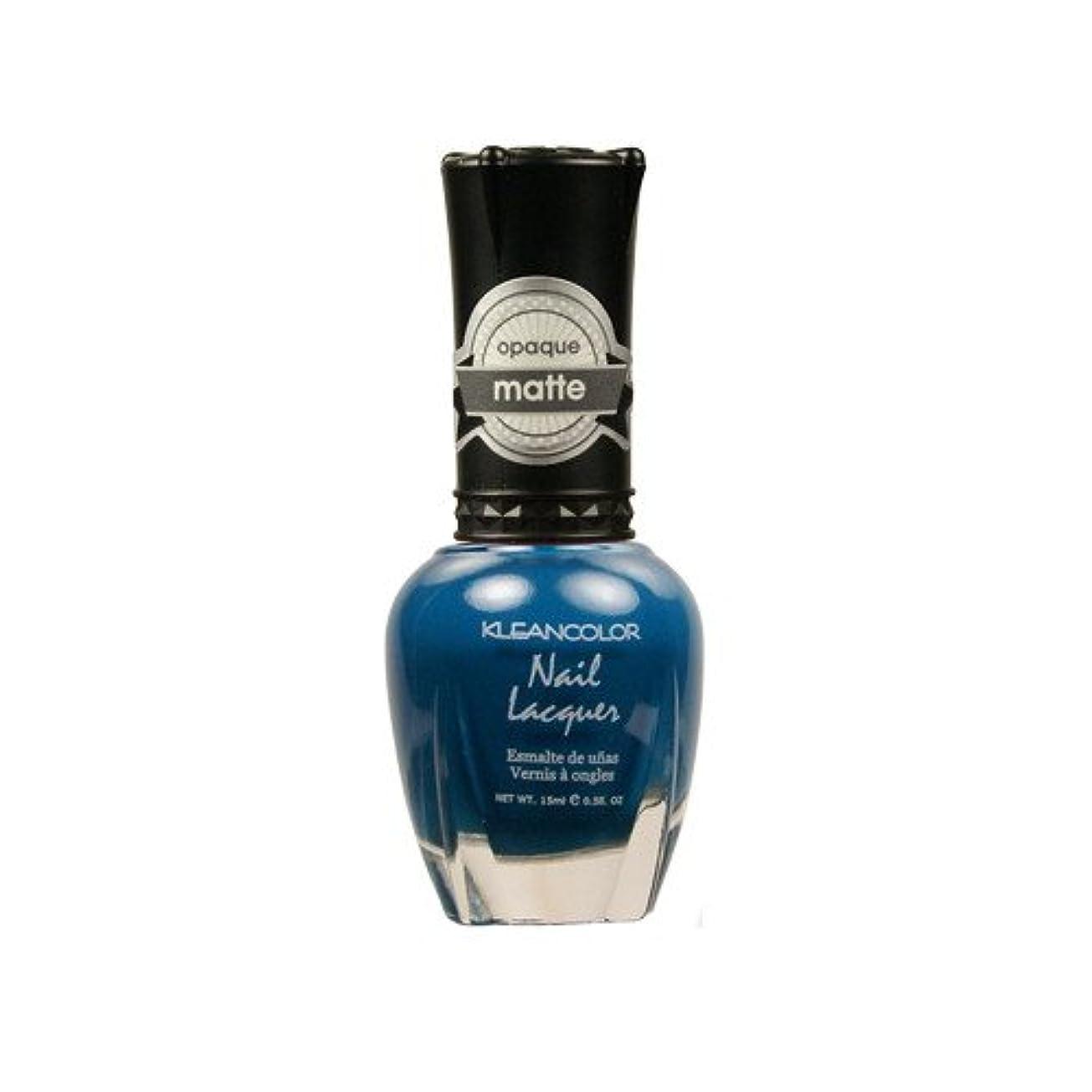 KLEANCOLOR Matte Nail Lacquer - Sensual Lagoon (並行輸入品)