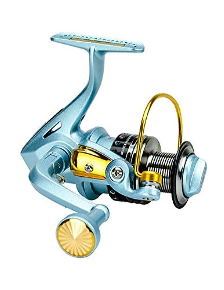 ずっと散髪について5BB防錆ベアリング付きリール、5.5:1高速スムーズギア、塩水釣り、淡水釣りに適しています (Color : 1000)