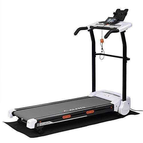 ALINCO(アルインコ) ルームランナー ジョギングマシン EXJ2115 時速1~10km ランニングマシン 2種トレーニングプログラム 音声ガイド機能 専用マット