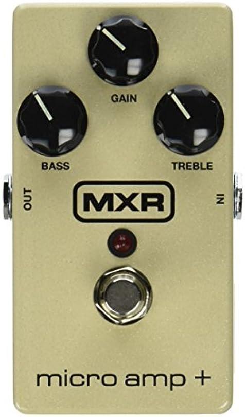 甲虫不器用歌うMXR M233 Micro Amp + Guitar Effects Pedal [並行輸入品]