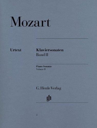 モーツァルト: ピアノ・ソナタ集 第2巻/ヘンレ社/原典版