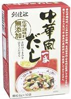 創健社 中華風だし一番(化学調味料無添加) 8g×10袋 [食品&飲料] ×6セット