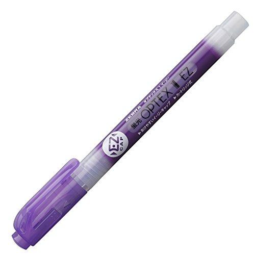 ゼブラ 蛍光ペン オプテックス1 EZ B-WKS11-PU 紫 10本