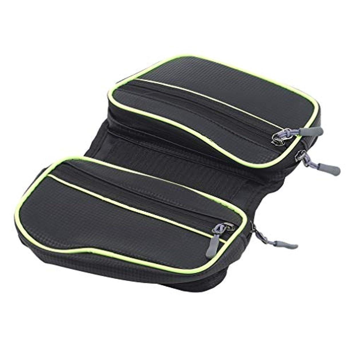 一致する湿原再編成する虹色蝶 トップチューブバッグ フレームバッグ タッチスクリーン機能 自転車バッグ スマホホルダー 小物入れ 大容量 防水 取り付け簡単,緑色