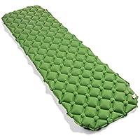 キャンプテント寝袋 - 戸外の防湿自動インフレータブルパッドPVC自動インフレータブルパッド単一の縫製することができます (Color : オレンジ)