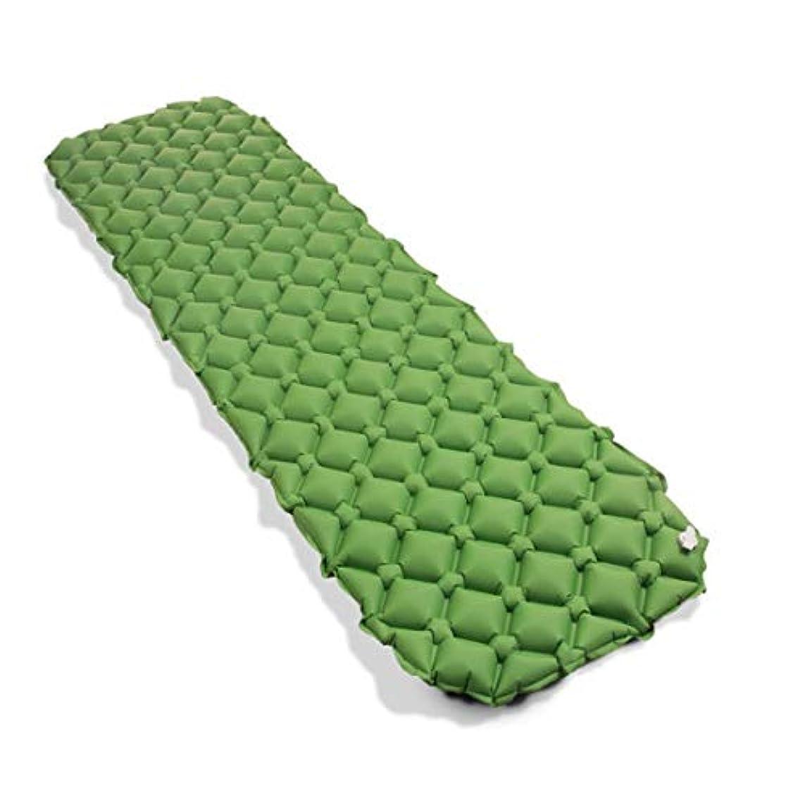 感覚合併お祝いノウ建材貿易 キャンプテント寝袋 - 戸外の防湿自動インフレータブルパッドPVC自動インフレータブルパッド単一の縫製することができます (色 : オレンジ)