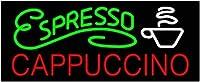 エスプレッソカプチーノ ネオン看板 ネオンサイン 広告