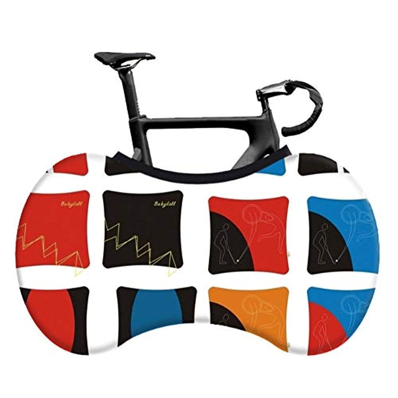 心のこもったそれから検証防塵バイク屋内収納バッグスクラッチプルーフ、洗える弾性自転車スクラッチプルーフプロテクションギアタイヤパッケージ、MTBロードバイク用、床と壁を汚れのない状態に保ちます