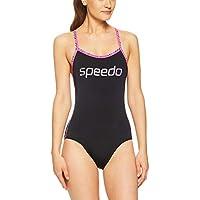 Speedo Women's Sierra ONE Piece, Black/Ziggy/Happyness