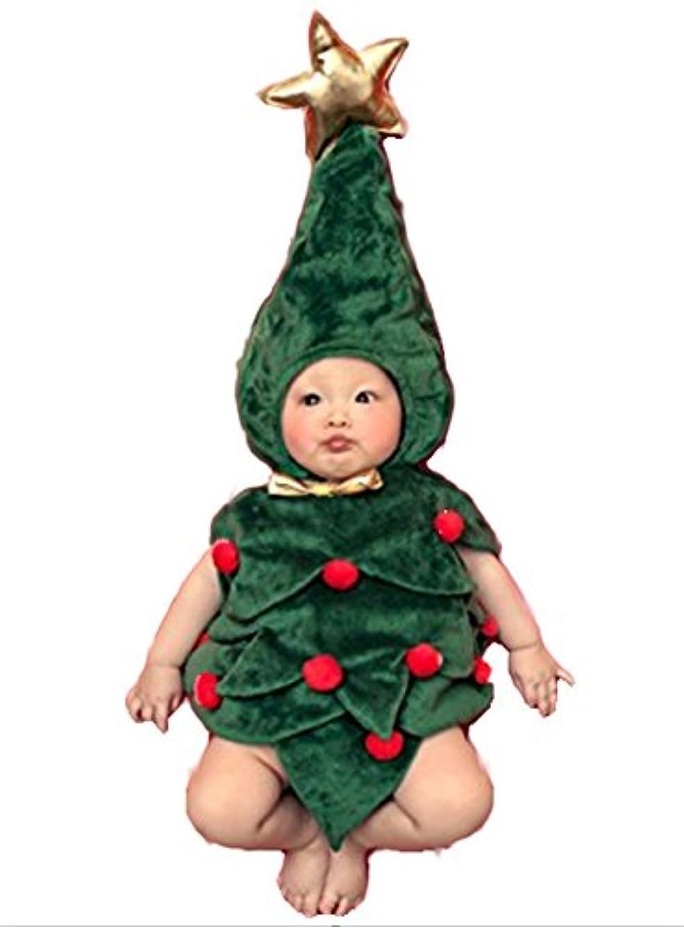 乳白不満男やもめ【wakongola】 かわいい ツリー ベビー コスチューム 着ぐるみ 寝相 アート イベント ハロウィン クリスマス