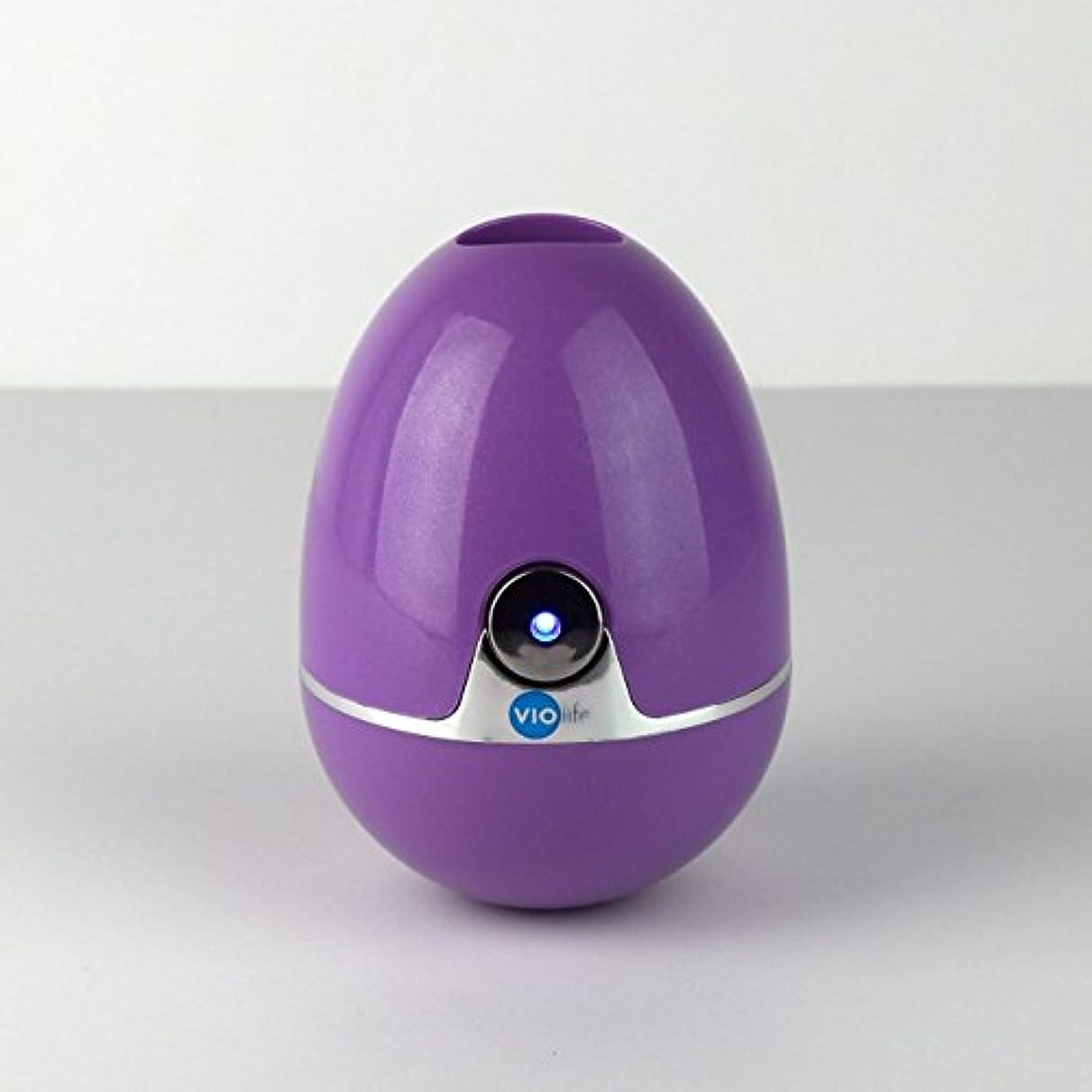 部屋を掃除する会計アサートVIOlife Style Zapi Luxe UV Toothbrush Sanitizer, Purple/Lavender, 6.3 Ounce