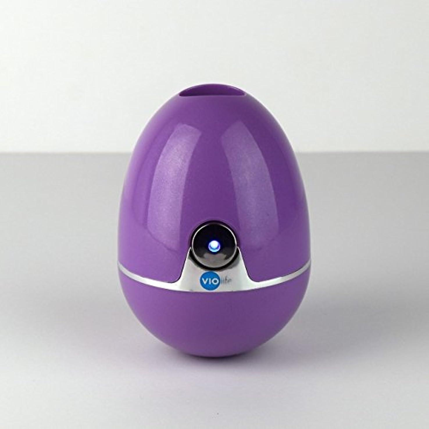 ドロップ主要な日光VIOlife Style Zapi Luxe UV Toothbrush Sanitizer, Purple/Lavender, 6.3 Ounce