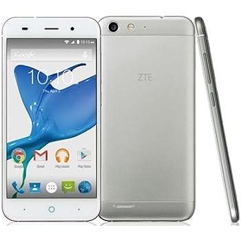ZTE SIMフリースマートフォン ZTE Blade V6(シルバー) BLADE V6-S