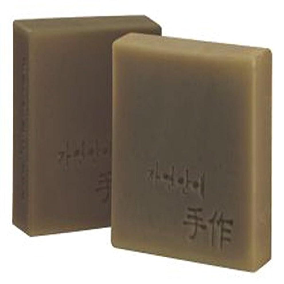 る空選択するNatural organic 有機天然ソープ 固形 無添加 洗顔せっけんクレンジング [並行輸入品] (当帰)