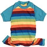 Leveret Dog Pajamas 100% Cotton Colorful Boy Stripes (Size XXX-Large)