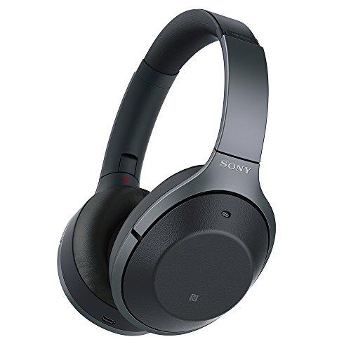 ソニー SONY ワイヤレスノイズキャンセリングヘッドホン WH-1000XM2 B : Bluetooth/ハイレゾ 最大30時間連続再生 密閉型 マイク付 2017年 ブラック