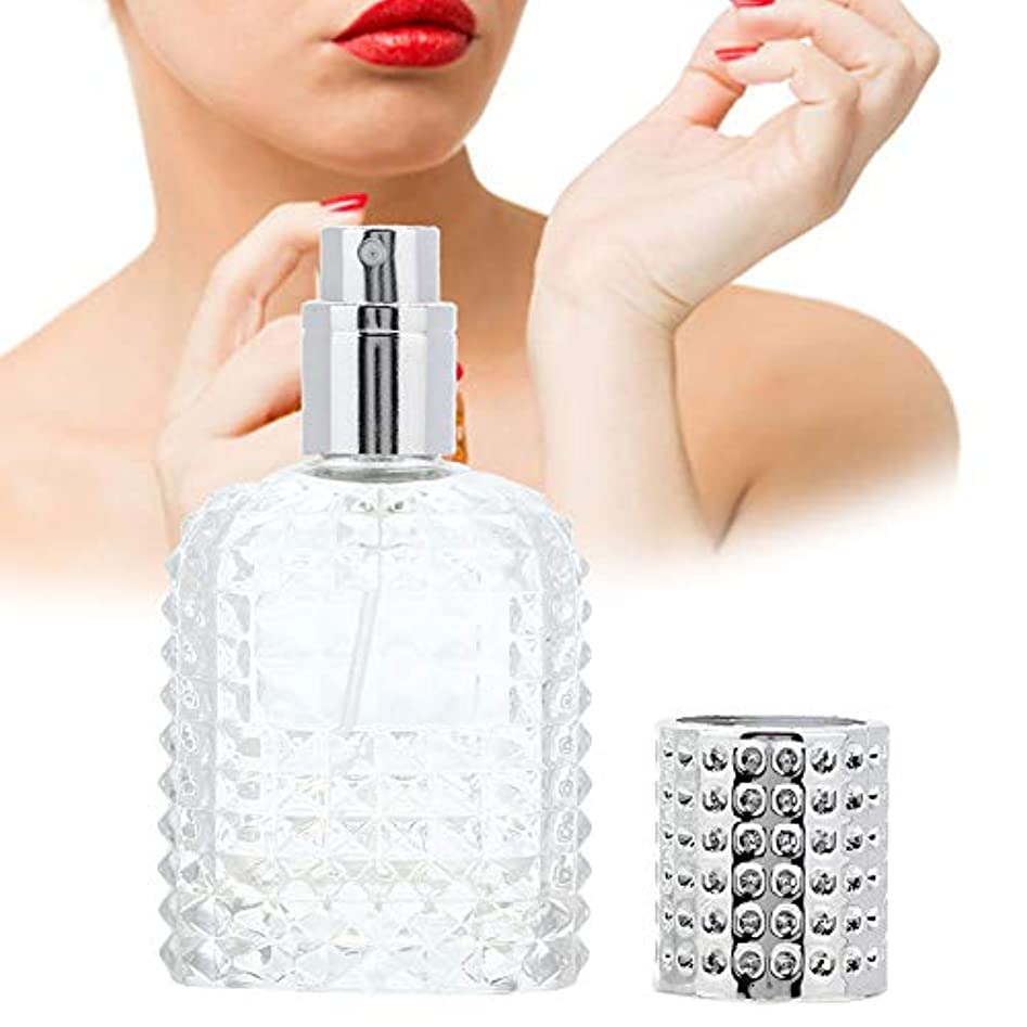 葉っぱ固めるエチケット30ミリリットルポータブルスピンタイプ香水瓶