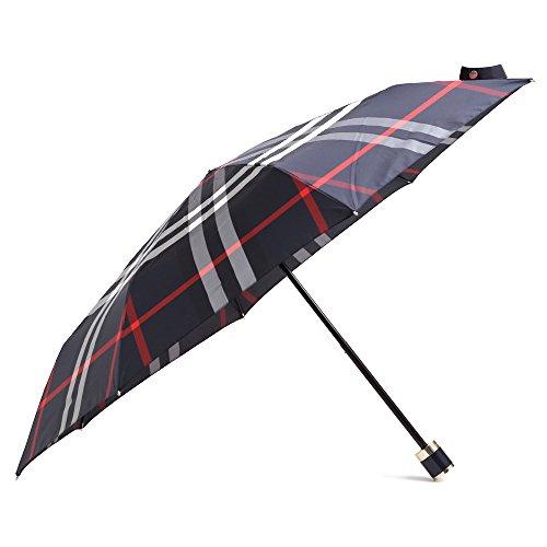 (バーバリー)BURBERRY 折り畳み傘 雨傘 アンブレラ SUSTAINABLE UMBRELLA (4004766 4100B(NAVY)) [並行輸入品]
